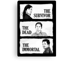Torchwood - The Survivor, The Dead, The Immortal Canvas Print