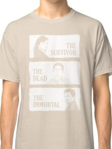 Torchwood - The Survivor, The Dead, The Immortal Classic T-Shirt