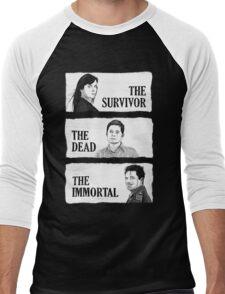 Torchwood - The Survivor, The Dead, The Immortal Men's Baseball ¾ T-Shirt