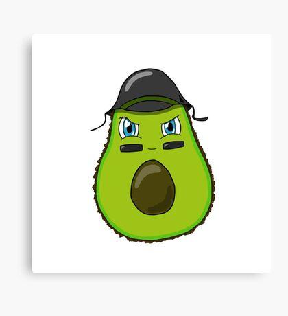 Army Avocado Canvas Print