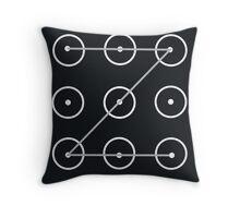 The Lock Screen002 Throw Pillow