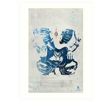 GANESHA art print Art Print
