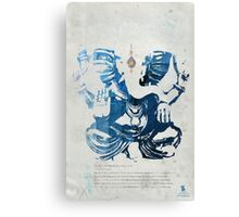 GANESHA art print Canvas Print