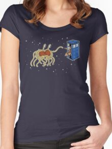 Wibbly Wobbly Noodley Woodley III Women's Fitted Scoop T-Shirt