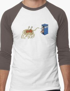 Wibbly Wobbly Noodley Woodley III Men's Baseball ¾ T-Shirt