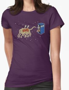 Wibbly Wobbly Noodley Woodley III Womens Fitted T-Shirt