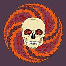 Psychedelic Skull by Richard Fay