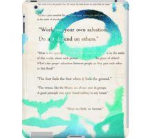 GUATAMA BUDDHA,  Buddha Quotes iPad Case/Skin