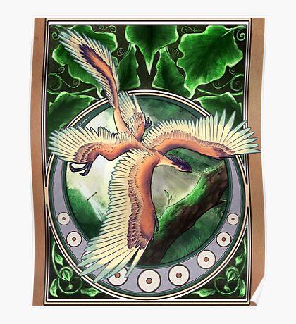 Microraptor Gui Nouveau Poster