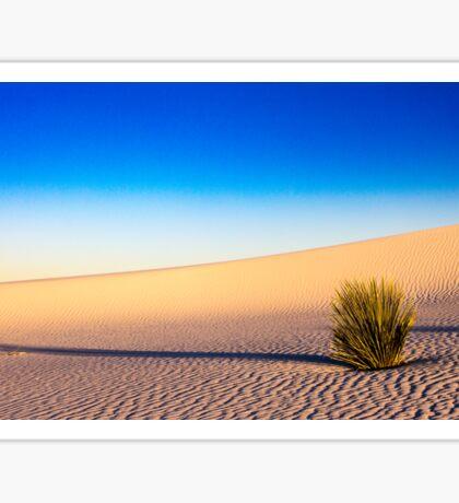 White Sands - Sunset  Sticker