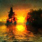 Sunrise at Frog's Lake by Gilberte