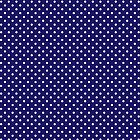 Polkadots Blue and White by Medusa81