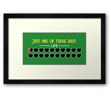 Just one of those days Framed Print