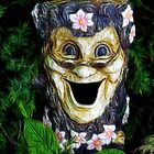 Laughter In The Garden by Tracy Deptuck