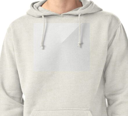 Dope Aesthetic Fade Design White Pullover Hoodie
