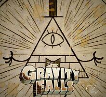 Bill Cipher- Gravity Falls by SirOrin