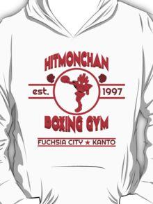 Hitmonchan Boxing Gym | Red T-Shirt