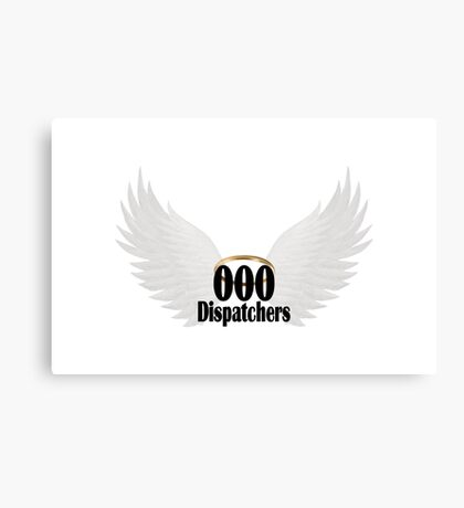 000 Dispatcher White Wings Canvas Print