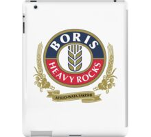 Boris - Heavy Rocks iPad Case/Skin