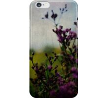 Wandering Through a Summer Field iPhone Case/Skin