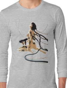 ghost in the shell 2 Long Sleeve T-Shirt