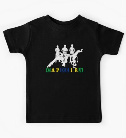 Capoeira - White Kids Tee