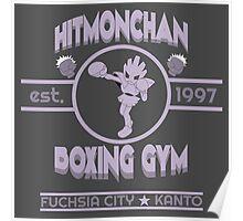 Hitmonchan Boxing Gym | Purple Poster