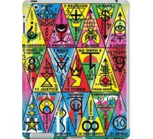 VAMAGON TRIANGLE TAROT CARDS T29 iPad Case/Skin