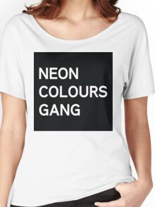 Neon Colours Gang Women's Relaxed Fit T-Shirt