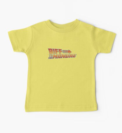 Biff To The Manure Baby Tee