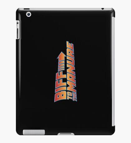 Biff To The Manure iPad Case/Skin