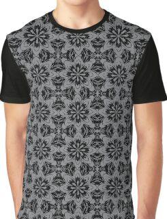 Sharkskin Floral Graphic T-Shirt