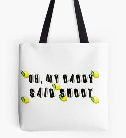 Daddy Lessons Tote Bag