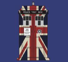 Union Jack TARDIS. by trumanpalmehn
