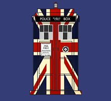 Union Jack Police Call Box. Unisex T-Shirt
