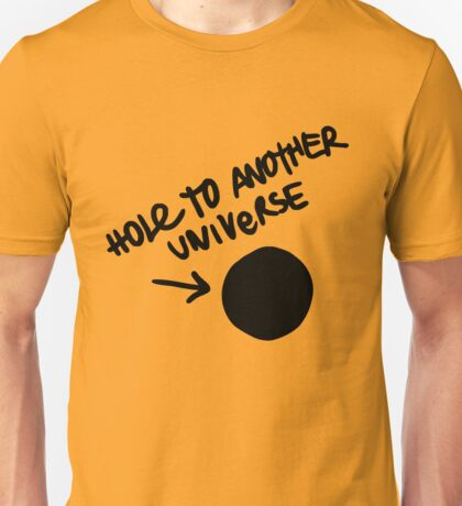 Hole to Another Universe Design Unisex T-Shirt