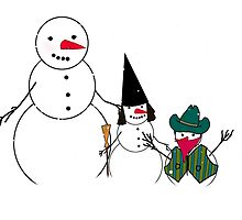 Halloween Time for Snowmen by Gravityx9