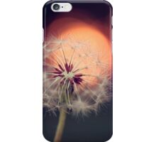 Sunset Dandelion iPhone Case/Skin