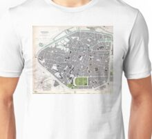 Plan of Brussels - 1837 Unisex T-Shirt