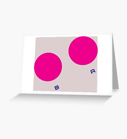 Game Boy Buttons Greeting Card