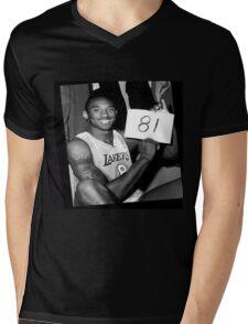 Kobe Bryant - 81 Points Mens V-Neck T-Shirt