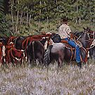 Living The Dream, Moving The Herd by Susan Bergstrom