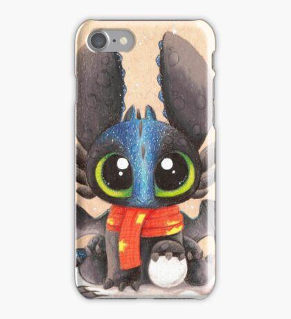 Baby Alpha Ohnezahn (winter) iPhone Case/Skin
