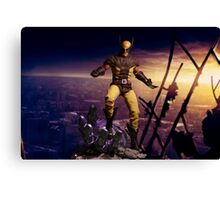 X-Men: Sentinel Diorama Series (Wolverine II) Canvas Print