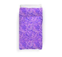 Purple William Morris Pattern Duvet Cover