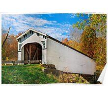 Richland Creek Covered Bridge Poster