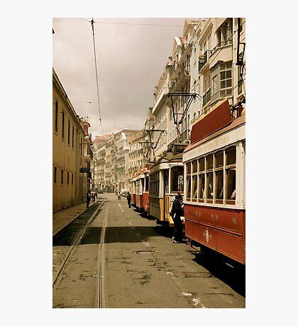 Downtown Lisbon Photographic Print