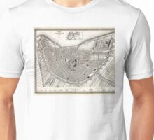 Plan of Amsterdam - Meyers - 1844 Unisex T-Shirt