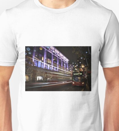 Christmas on Regent Street Unisex T-Shirt