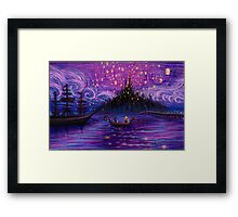 The Lantern Scene Framed Print